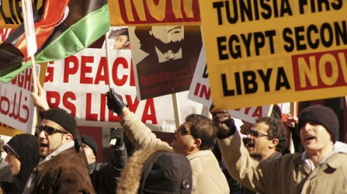 Libyan uprising draws toronto protests libyan uprising draws toronto protests sciox Choice Image