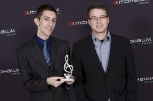 Brad Cheeseman wins best instrumental recording at the Hamilton Music Awards. COURTESY BRAD CHEESEMAN
