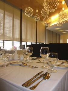 The humber room's grand opening after renovations.