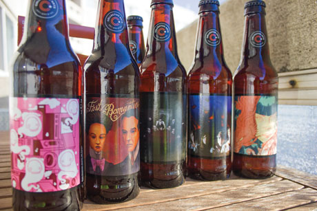 Scan the label on any of the unique Collective Arts Brewery bottles with Blippar to learn more about the featured artists or musician through their bio and/or music videos. | Photo by Nick Jean.