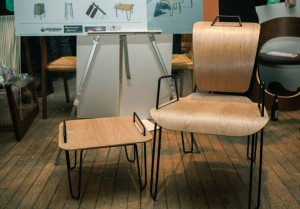 Chairs were judged on criteria such as proportion, balance, ergonomics, innovation and originality.