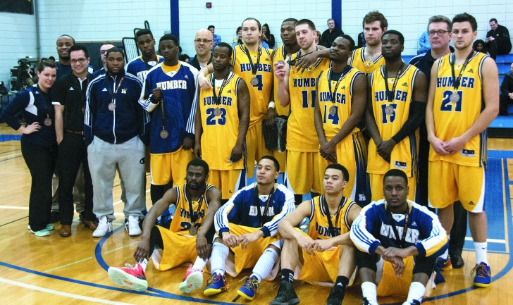 After failing to medal last season, the Hawks brought home a bronze in OCAA tournament action this season. (Jeff Sehl)