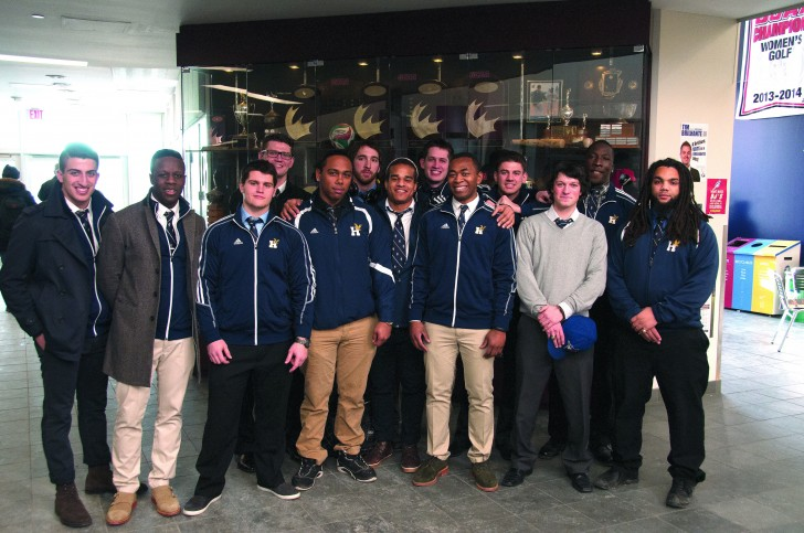 The Hawks, who went undefeated in OCAA action, are sending a team to B.C. for rugby sevens.