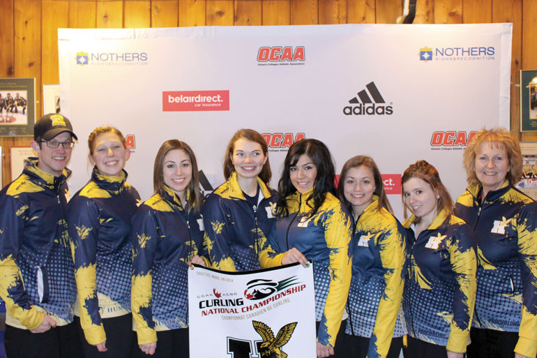 The Hawks secured a medal after a strong Day Three when they went 3-0 to finish second in the standings. They lost to the Red Deer Queens in the finals | Courtesy Michael Snowshoe
