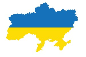 Ukraine declared independence from the U.S.S.R. in August 1991. The country's colours are blue and yellow.