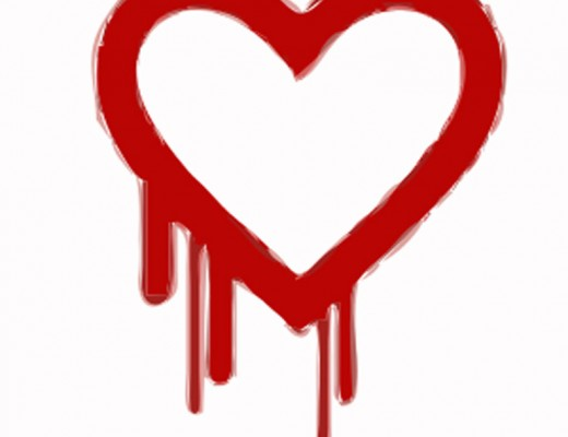 The icon representing the Heartbleed bug has been splashed across screens everywhere as the story unfolds. Courtesy Global Panorama, flickr creative commons.