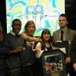 Winners of the 2014 Judy Harvey Student Spirit Award. The award recognizes a group of students who have demonstrated outstanding dedication and contribution to student development and success. | James Berardi