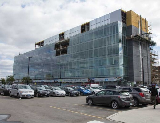 The LRC building at Humber North campus will be ready by July 2015.