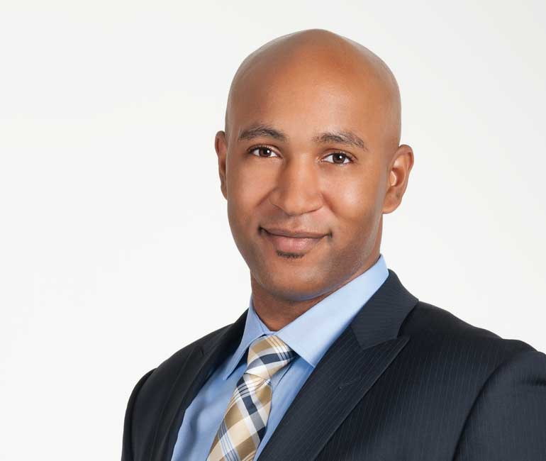 Ward 2 Andray Domise has now run against three different Fords. Photo courtesy Andray Domise Campaign