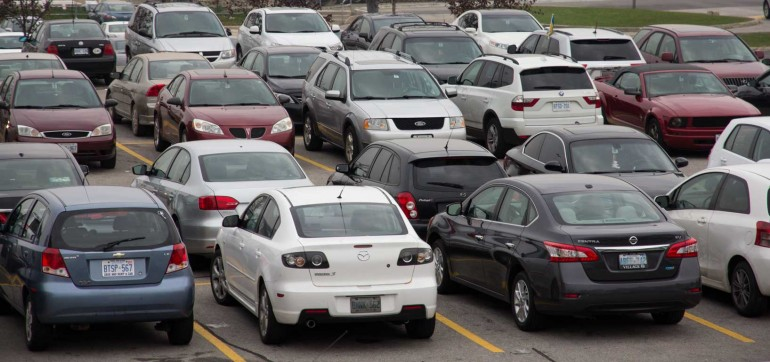 Contrary to popular opinion, Humber has not oversold parking permits. Photo by Nick Beare.