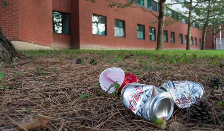 Humber's rules include a ban on 40 oz. bottles, beer bottles and drinking games. Photo by Kelsey Coles.