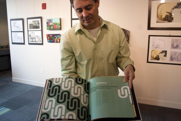 Kevin Brandon, Graphic Design coordinator