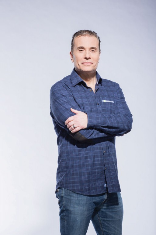 Michael Landsberg, studied radio and television at Ryerson. He has been the host of TSN's Off the Record since 1997 and is now producer as well.  Courtesy of Michael Landsberg