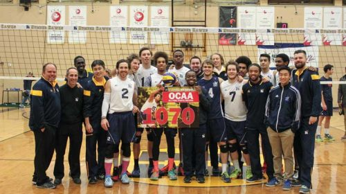 Humber Hawks Men's volleyball team