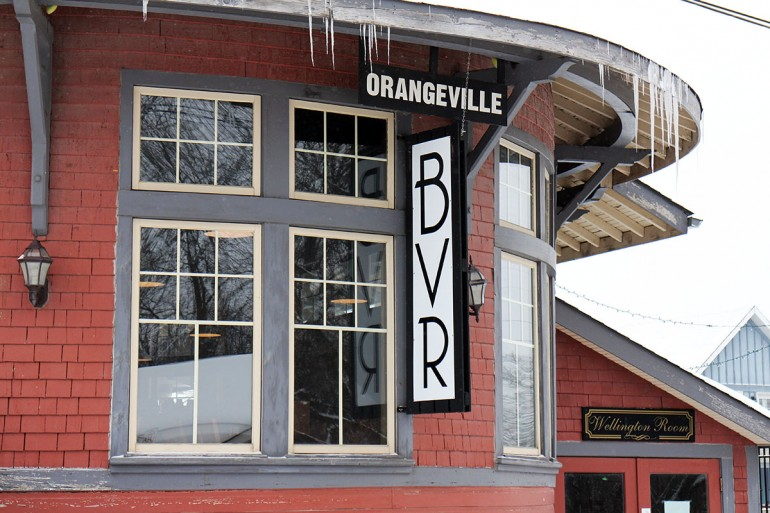 Orangeville's Barley Vine Rail, which is owned by Humber grad Ryan Latorre, was recently featured on the Food Network's You Gotta Eat Here! (Photo courtesy Barley Vine Rail)