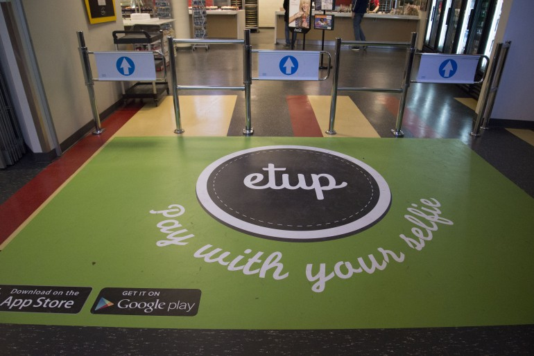 etup is currently being promoted as the best way to pay for food.