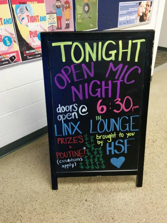 HSF's holds its monthly open night at North Campus' LinX Lounge. (Photo: Charlotte Morritt-Jacobs)