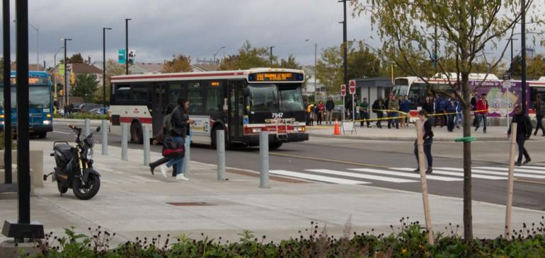 Humber bus loop. (Photo: Chris Besik)