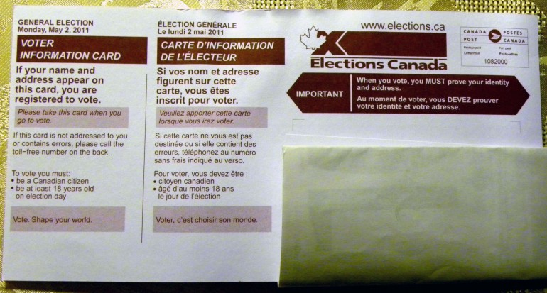 New regulations surrounding the upcoming Federal election have many people wondering if they can vote. (Photo: Creative Commons)