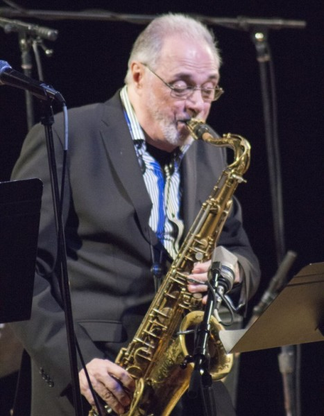 Pat LaBarbera performs with the Humber Faculty Quintet at the Billy Strayhorn tribute on Nov. 13 (Ken Kellar).