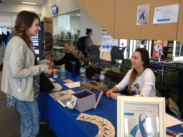 Sophie's Run is an event to promote and educate students about colorectal cancer. (Photo: Ruth Escarlan)