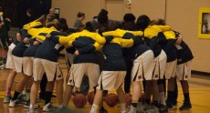 This past season, Humber Hawks women's basketball  team medalled in national championships for the first time. - Jahnelle Simpson