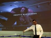 Humber film graduates Jeff Reynods and Dan Laera present their film Pretty Dangerous at the TIFF Lightbox theatre in Toronto. (Courtesy Jeff Reynolds)