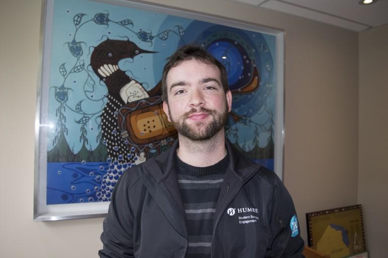 Matthew Waghorn, Residence Life Coordinator at Humber's North residence. (Christina Mulherin)