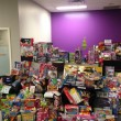 A toy drive run by Paul Iskander and Megan Thomas in Humber Residence is in support of the Children's Aid Society and the Boys and Girls Club. (Paul Iskander)