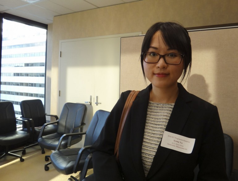 Iyona Jia Yin Yu was in Japan with JET Programme between 2012 and 2016
