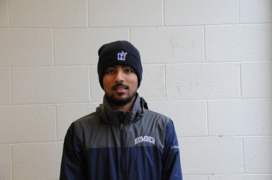 Nauman Zafar is traveling to Houston as part of the Canadian College Cricket All Star team. Credit: Marlee Greig