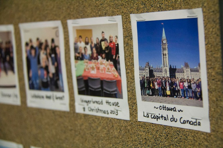 The International Centre at Humber Collage sends students on trips to see parts of Ontario and Quebec.