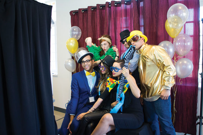 At the ninth annual Motown themed alcohol awareness event, held at the Student Centre on April 15, students were able to take part in a variety of fun activities to engage them in having fun in a responsible way. (Photo Christy Farr)